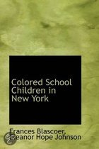 Colored School Children in New York