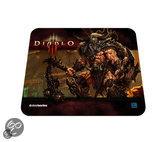 Foto van Steelseries Qck Diablo III Muismat - Barbarian Edition Zwart PC