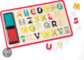 Puzzel alfabetstempels 26 stuks
