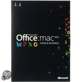 Microsoft Office 2011 for MAC Home and Business 1-Desktop directe download versie