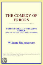 The Comedy Of Errors (Webster's Italian