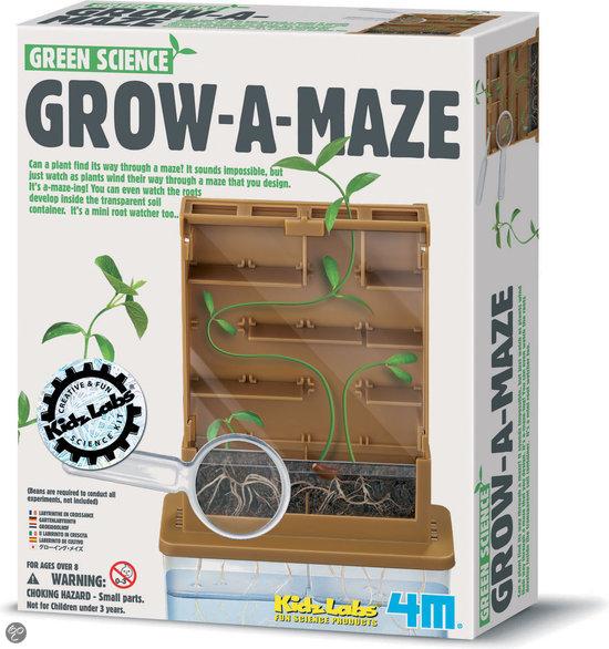 4M Kidzlabs Green Science Groei een Doolhof