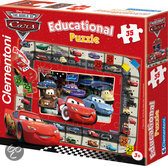 Cars 'Interactieve Quiz Puzzel'