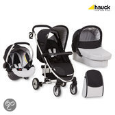 Hauck - Malibu All in One Kinderwagen - Caviar/Silver