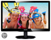 226V4LSB2/10 21.6i LED Full HD 5ms 1920x1080 16/9 VGA 200cd/m 10M:1 VESA GlossyBlack