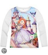 Disney Princess Meisjesshirt - Wit - Maat 92