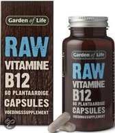 Garden of Life Raw vitamine B12 - 60 Capsules