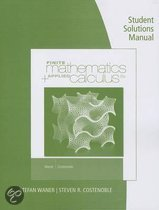 Student Solutions Manual for Waner/Costenoble's Finite Math & Applied Calculus, 6th