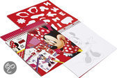 Minnie Mouse Sjablonen Knutselboek