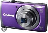 Canon PowerShot A3500 IS - Paars