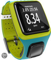 TomTom Runner Limited Edition - GPS Sporthorloge - Turquoise/Groen