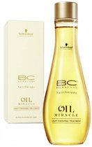 Schwarzkopf BC Oil Miracle Light Finishing Treatment - 100 ml - Haarmasker