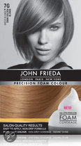 John Frieda Precision Foam Colour 7G Dark Golden Blonde - Haarkleuring