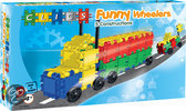 Clics Funny Wheelers Box 5 in 1 - Constructie blokken