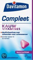 Davitamon Compleet - Bosvruchten - 60 st - Vitaminen