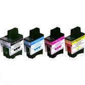 Brother LC-900 multipack zwart en kleur 4st. (compatible)