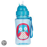 Skip Hop - Zoo plastic beker Uil - Blauw