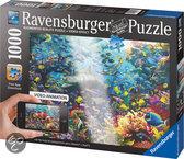 Augmented Reality Puzzel 'Kleurrijke Onderwaterwereld'