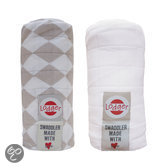 Swaddler 2-pack - Hydrofile doek - Shell