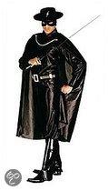 Zorro kostuum voor volwassenen 50 (m)