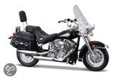 Maisto Harley-Davidson 2000 Flstc Heritage Softall Classic