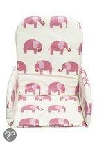 Jollein - Stoelverkleiner - Elephant Pink