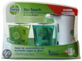 Dettol No Touch Zeepdispenser Dualpack Silver - 3 stuks