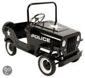 Metalen Trapauto Politie
