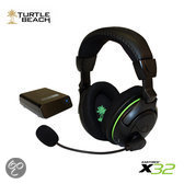 Turtle Beach X32 Draadloze Gaming Headset Zwart Xbox One + Xbox 360