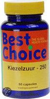 Best Choice Kiezelzuur 250 - 60 capsules