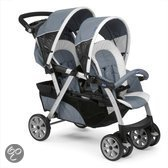 Chicco Together - Tweeling kinderwagen - Grijs