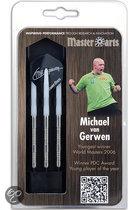 Masterdarts Michael van Gerwen Brass Steel 20 gr. - Dartpijlen