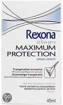 Rexona Women Maximum Protection Clean Scent - 45 ml - Deodorant