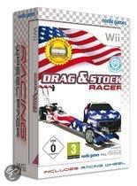 Drag & Stock Racer + Steering Wheel