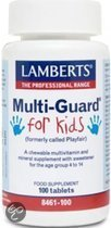 Lamberts Multi Guard For Kids / Playfair - 100 Kauwtabletten