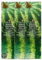 Dr van der Hoog Madly Mango Melon - Gezichtsmasker - 3 stuks - Voordeelverpakking
