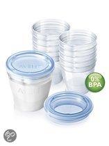 Philips Avent - SCF612/10 - Bewaarflessen voor moedermelk