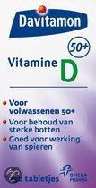 Davitamon Vitamine D 50+ - 250 st - Vitaminen