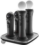 Duracell Quad Charger - Playstation Move & Navigation Controller