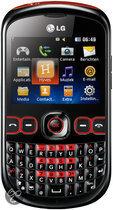 LG In touch (C300) - Zwart/Rood