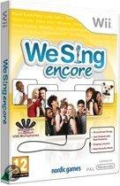 We Sing - Encore Wii