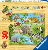 Ravensburger Puzzel - Jonge Dieren in de Jungle