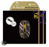 The Royal Club, Bundel Wireless Mouse + Mouse Pad (Royal Glam)