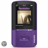 Philips GoGear Vibe - MP4 speler - 4 GB - Paars