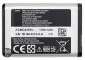 Samsung Accu AB803446BU (o.a. voor Samsung B2710 Xcover 271, B7330 OmniaPRO en C3350)