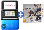 Nintendo 3DS XL Zwart + Blauw - Limited Edition + Fire Emblem Awakening