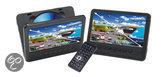 Denver MTW756TWIN - Portable DVD-speler met 2 schermen - 7 inch - Zwart