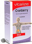 Vitalize Vitalize Cranberry Tabletten 60 st