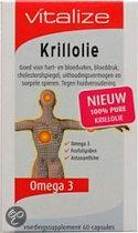 Vitalize Krillolie - 60 capsules