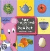 Simply for kids Fotobeeldenboek rondom de keuken nederlands-engels